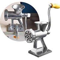 Edelstahl Manuelle Fleischschleifmaschine Multifunktions Fleischschleifer mit langer Röhrefüllungswurstmaschine Schleifset Küchenwerkzeuge T200523
