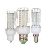 85-265 V LED Mısır Ampuller Işık B22 E27 E14 E26 E12 Mısır Ampul Işık 4014 SMD Lambası