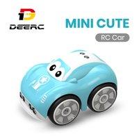Dearc Mini Cute Racing RC Автомобиль для мальчиков AOTU Следуйте следовать дорожеку Электрический пульт дистанционного управления Автомобильные игрушки для детей Kids LJ200919