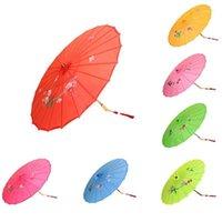 اليابانية الصينية الشرقية المظلة اليدوية النسيج مظلة ل حفل زفاف التصوير الدعائم LX64771