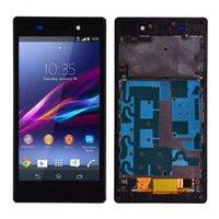 Orijinal Sony Xperia Z1 L39H L39 C6902 C6903 C6906 LCD Ekran Dokunmatik Ekran Digitizer Meclisi Için Sony Xperia Z Z1I Z3X LCD