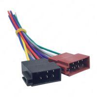 Универсальный автомобиль стерео женский Iso- Radio Plug адаптер подключения кабеля стерео жгут y4ua1