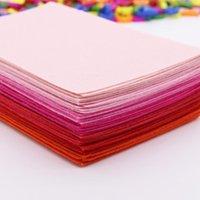 Tecido rosa feltro pano 1mm poliéster tecidos needlework diy agulha costura fiortro fiortro feltro home decor material1