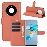 Litchi Pattern Flip Pu 가죽 지갑 케이스 Huawei Honor 10x Max 30 9X Lite Play 4 9s 즐거운 10s 20 Pro Y8P Y5P