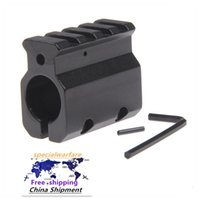 Gas verstellbarer Block Single 20mm Picatinny Schienenmontage .223 LR-308 Barrel .750 \