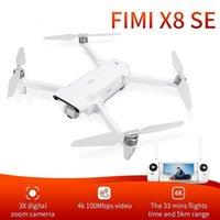 بدون طيار RCTOWN FIMI X8SE 2021 نسخة كاميرا بدون طيار RC كوادكوبتر 8km FPV 3-Axis Gimbal 4K HDR فيديو GPS مع بطارية واحدة RTF1