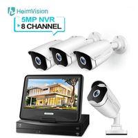 HEIMVISION HM541 5MP PoE-Sicherheitskamerasystem 8CH NVR-Kits im Freien- / Innenüberwachungskameras mit 10-Zoll-LCD-Monitor1