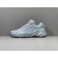 Statik 700 Sneakers Erkekler Kadınlar Kanye West V2 Hastane Mavi Atalet Tephra Geode Leylak Vure V3 Vanta 3 M Yansıtıcı Dalga Koşucu Koşu Ayakkabıları