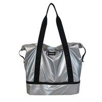 2021 Leichte Große Kapazität Yoga Matte Pack Gym Fitness Bag für Frauen Männer Training Reise Gymtas Outdoor Sport Tas Sporttas Q0113
