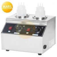 Ekmek Makineleri Ticari Elektrikli Sos Şişeleri Isıtıcı Peynirli Çikolata Soya Dolum Yayılma Reçelleri Dispenser Makinesi1