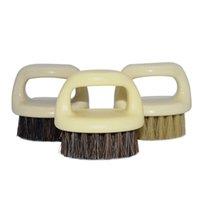 Plastic retro baard modellering borstel zwijn borstels mannen snor vinger ring scheren draagbare gezichtsverzorging schone borstels nieuwe 2 4MX G2