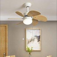 30 inç modern çalışma led tavan fanı ışık özlü çok renkli bar yatak odası fan açık güzel kız çocuk odası1