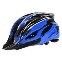 Casques de cyclisme Casque de vélo Réglable Équitation détachable pour hommes Femmes Racing Sport Safety1