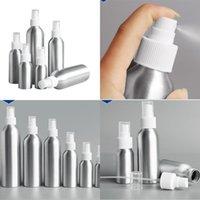 Pulvérisation en aluminium Atomiseur Bouteille de bouteille métallique vides bouteilles de brouillard fin Atomizer Conteneur cosmétique 30ml 50ml 100 ml 150 ml 250 ml 500m 96 J2