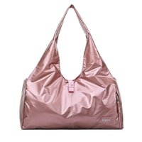 "WOMENS BRAND BAG LOUIS""VITTON DESIGNER Pocket With Shiny Yoga Mat Gym Multi Travel Pink Bag Waterproof Short Trip Duffel Shoe H2nb Wome"