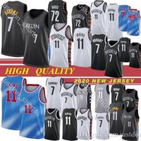 Herren 7 Kevin Durant Kyrie Herren 11 Irving Basketball-Trikots Neue Universität NCAA 7 Durant 11 Irving S-XXL Jogginghose Camisetas Hemden