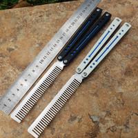 A faca de treinamento de High-end Butterf Black G10 High End de um papagaio (4 cores disponíveis)