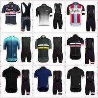 2020 Verão Homens Rapha Equipe Venda Quente Ciclismo Jersey Bib Shorts Conjuntos de Bicicleta Roupas Road Racing Quick Dry Sportwear G62041
