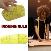 Herramientas de nociones de costura Resistente al calor Costura curvada Ruler Planchar Planchar Ropa de medición Accesorios antideslizantes 10 * 30CM1