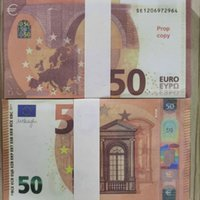 Prop Euro Copy Toys Faux Billet Money 50 Trick Children Mone...