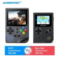 Anbernic - لعبة الرجعية لعبة RG99 الرجعية البسيطة fc فيديو ألعاب مشغل 16 جيجابايت 2000 العاب طوني نظام المحمولة اللاعبين لعبة المحمولة 1