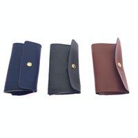 Saklama Torbası Kasa Torbası Yüz Maskeleri Tutucu Kılıf Deri Kılıf Pocketbook Kadınlar Erkek Kart İş Kahverengi Mavi 3 5zl F2 Maske