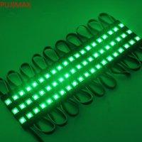 Nuovo arrivo 5050 SMD 3LEDS RGB Moduli a LED di iniezione con lente DC 12V impermeabile IP67 pubblicità luce