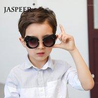 선글라스 Jaspeer 패션 아이들 어린이 태양 안경 날개 모양 소년 소녀 UV400 고글 장식 아이웨어 1