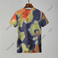2021 New Summer Designer Herren Tshirt Camo Scrawl Brief Drucken Casual T-Shirt Frauen Luxus T-Shirt Kleid T-Shirt Tops