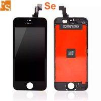 LCD Ekran iPhone 5 S SE 5C 5G LCD Dokunmatik Sayısallaştırıcı Soğuk Basın Çerçeve Montaj Hayır Ölü Piksel DHL Ücretsiz Kargo