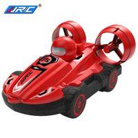 JJRC Q86 2.4G 2 en 1 Amphibious RC Drift Car Remote Control Remoto Hovercraft Speed Boat RC Stunt Coche Toys Outdoor Toys Regalo para niños Boys 201218