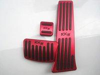 Продажа педалей для KIA KX5 При необходимости не нужно перфорированные отверстия алюминиевый топливный тормоз отдых ноги педаль автомобиля быстрый 3шт корабль1