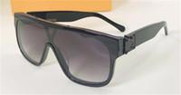 새로운 패션 디자인의 선글라스는 사각형 프레임 한 조각 거울 야외 보호 아방가르드 인기 장식 안경 (400 개) 안경 UV Z1258E