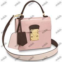 Bolsa de ombro high-end patente design de impressão de couro de alta qualidade sacos mulheres mini moda senhoras bolsa bolsa