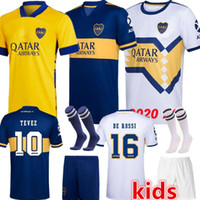 2020 2021 Boca Juniors soccer Jersey Home Away Boca Juniors GAGO OSVALDO CARLITOS PEREZ DE ROSSI TEVEZ PAVON JRS MEN KIDS football shirt Top