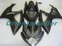 Corpo per Suzuki GSX R600 GSXR750 GSXR600 GSXR600 06-07 GSX R750 GSXR 600 750 K6 GSXR750 2006 2007 carenatura kit nuovo di fabbrica opaco AD38 nero