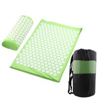 Cushion Massage Yoga Mat Acupressure Relieve Stress Back Body Pain Spike Acupuncture Mats