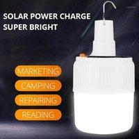 فوانيس المحمولة تهمة الشمسية القابلة لإعادة الشحن مع التحكم عن الصمام لمبة مصباح الطوارئ ليلة ضوء السوق في الهواء الطلق التخييم light1