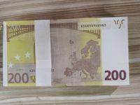 Token100 Prop Coin 500 Euro Televizyon Oyuncak Para Bar Pratik ve Bar Çekim Sahne Film Banknot Sahte Para oyunu UMDMC