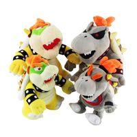 18-25 cm Koopa Bowser Plüsch Cartoon Puppe Spielzeug heißes Spiel Maro Bros Luigi Figur Plüsch Puppe Spielzeug Nette Baumwolle weiche gefüllte Geschenk