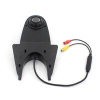 Universal HD Night Vision Impermeabile IR Light Camera 12V Immagine retromarcia Auto Vista posteriore 10m Video Wire Nero Bianco NTSC PZ506