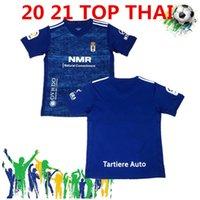 2020 2021 Real Oviedo IBRA футбол для футбола 20 21 R. Folch Y. Bárcenas johannesson Mossa Javi Muñoz Мужская футбольная рубашка синий белый