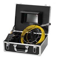 Fish Finder Lixada Дрежок трубы канализационная камера водонепроницаемый промышленный эндоскоп борескоп под водой для рыбалки1