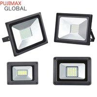 Светодиодные прожекторы 30W 50W 100W 200W 300W REFLEFLOR IP66 Водонепроницаемый светодиодный лампа светодиодных ламп на открытом воздухе AC 85-265V Spotlight уличные фонари