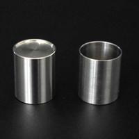 Titanium Insert Bowls для фокусировки Product V2 Carta V2 Чаша с плоским верхним тепловым гвоздем для толщиной кварца Bongz Bang Bong
