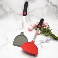 Multi-color Sopa Sopa Colher Comida Silicone Kitchenware Vermelho Dot Sovellor Shovel Shovel Spatula Nonstick CFVT0263