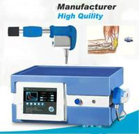 Compresor importado alemán 7 barras de onda de choque Máquina de onda de choque / Máquina de terapia de onda de choque / Equipos de terapia de onda de descarga extracorpórea CE / DHL