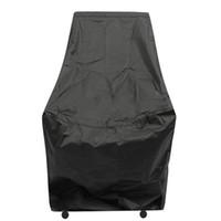 1PCS Mayitr البوليستر كرسي للماء غطاء الغبار غطاء المطر في الهواء الطلق حديقة الأثاث الباحة حماية الأسود