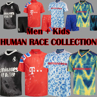 2020 2021 Human Race Collection Fußballtrikots HRFC Human Race Fußballtrikots 4. Vierte HU HUFC Men Kids Kit setzt Uniformen Maillot de foot