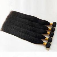 Vizon Brezilyalı Virgin İnsan Saç Örgüleri İpeksi Düz 8-30 inç Bayanlar Hint Remy Saç Atkı 10bundles Ucuz Fabrika Toptan Fiyat